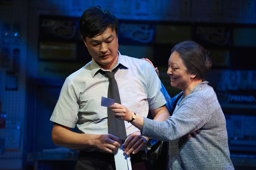 Ins Choi and Jane Luk. Photo by Bruce Monk
