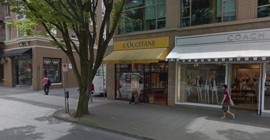 L'Occitane Burrard Street Vancouver