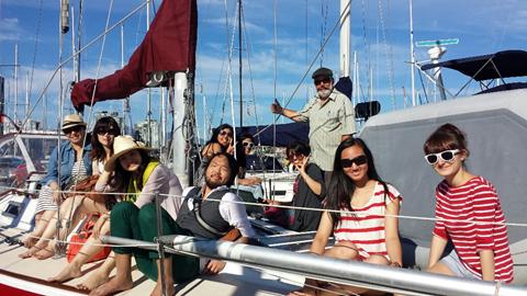 Photo: Busker Fest volunteer Sailing Trip, Credit: VIBF 2013