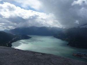 The view from a peak on Stawamus Chief (Yelp photo).