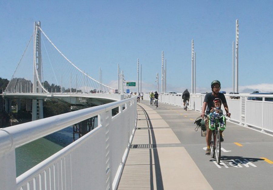 Image: City of Oakland Bay Bridge Bike Path