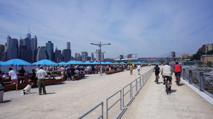 Image: City of New York Brooklyn Coastline