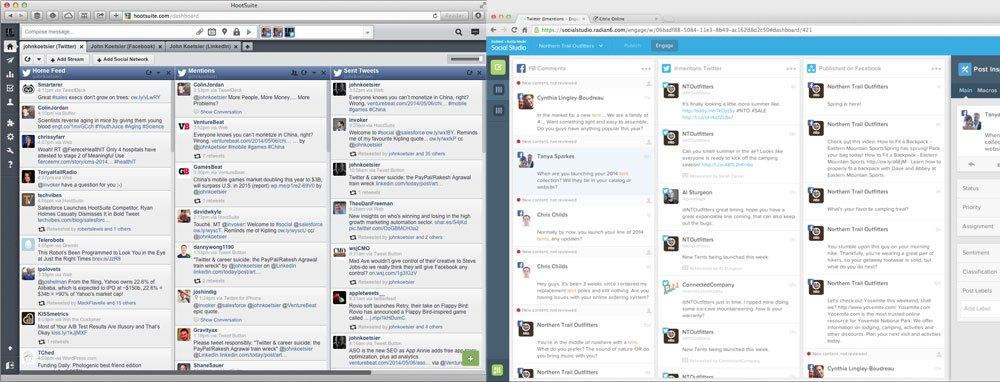 HootSuite vs Social Studio