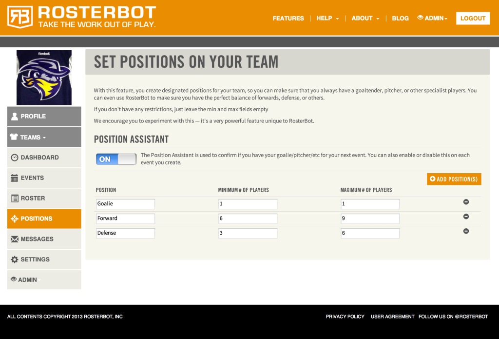 rosterbot-position-assistant