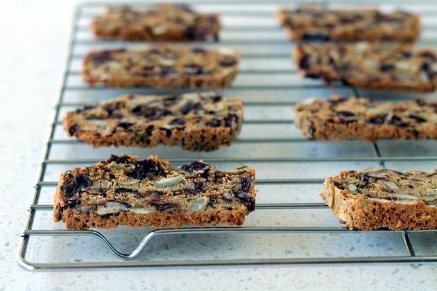 Wheat-Free Dairy-Free Rosemary Cranberry Crisp Crackers