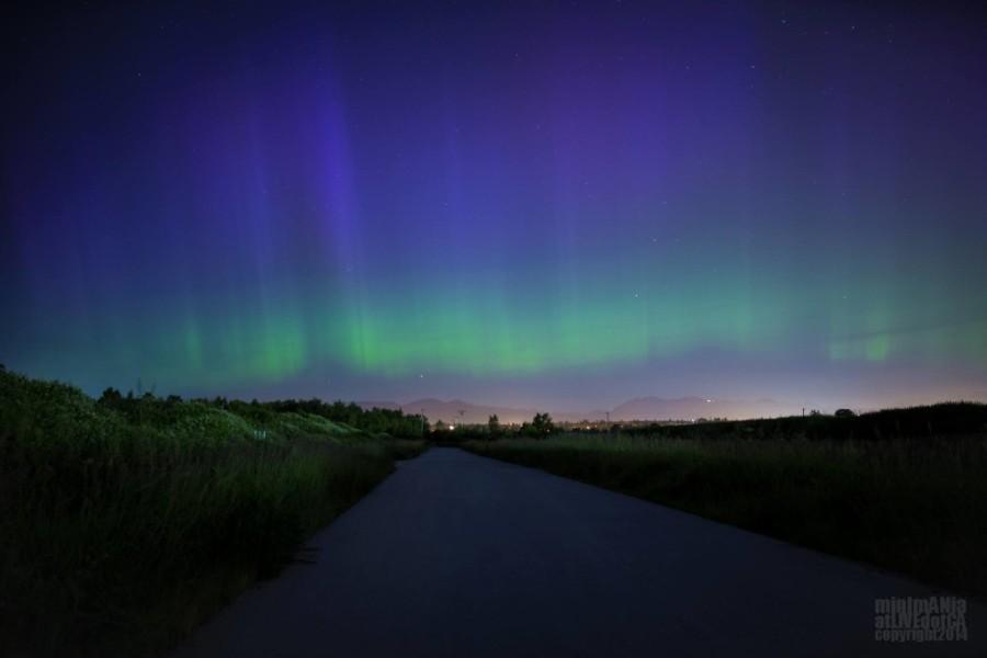 Northern Lights Vancouver Aurora Borealis