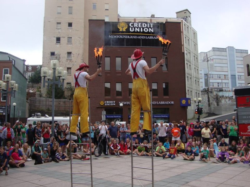 #4 - Annual Downtown St John's Busker Fest - Photo