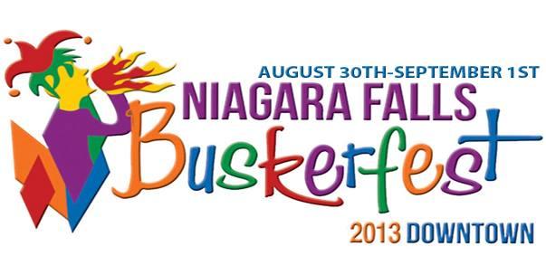 #4 - NIAGARA FALLS BUSKER FEST - Banner
