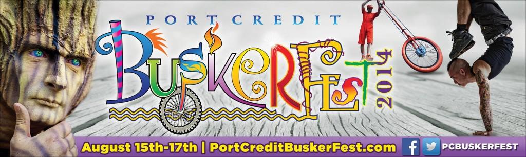 #4 - PORT CREDIT BUSKER FEST - BANNER