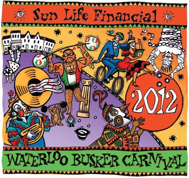 #4 - Waterloo  Busker Carnival - Banner