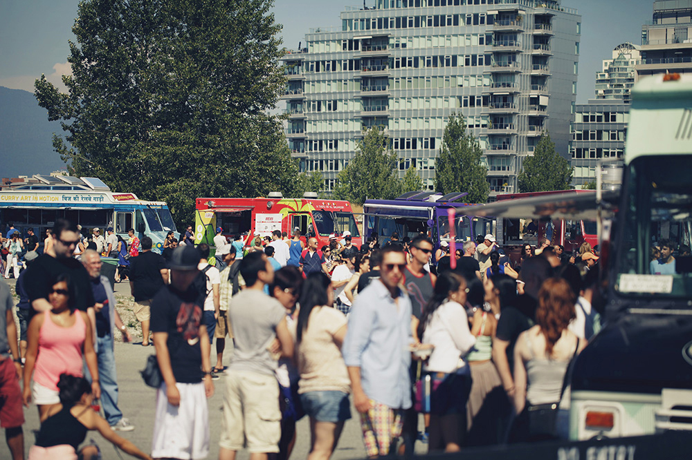 Food Truck Festival Vancouver June