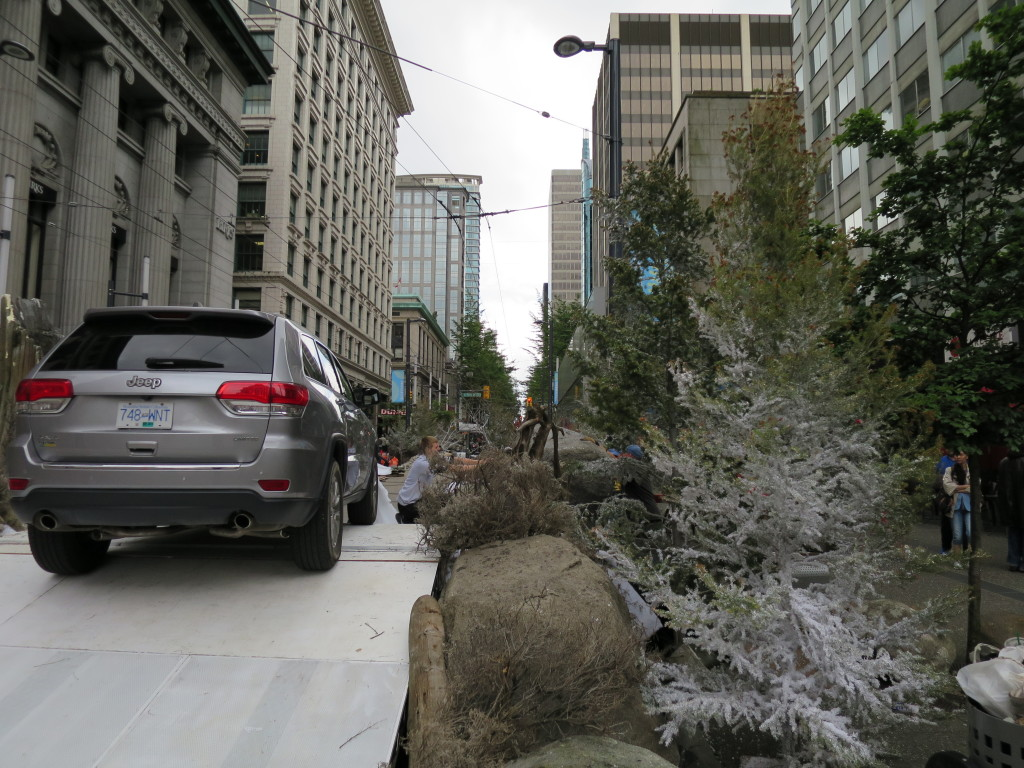 Granville Street Jeep Commercial