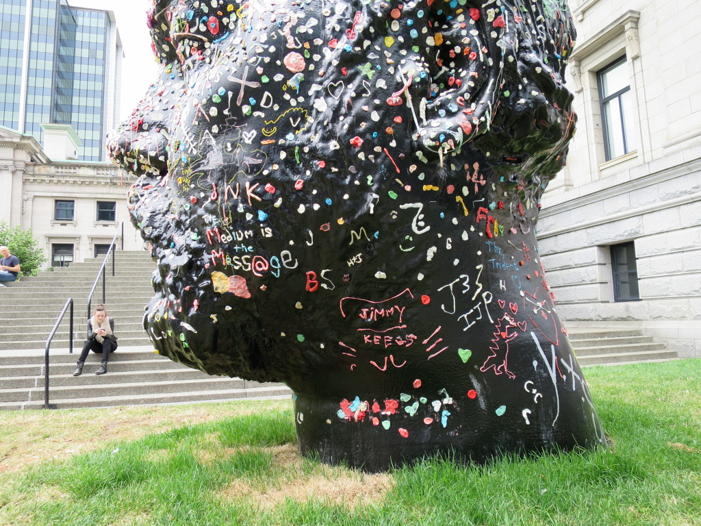 Gumhead Douglas Coupland Vancouver Art Gallery
