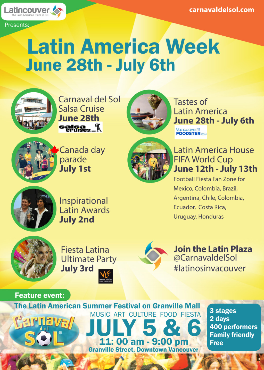 Latin America Week Events