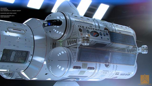 NASA IXS Enterprise 1