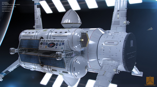 NASA IXS Enterprise 3
