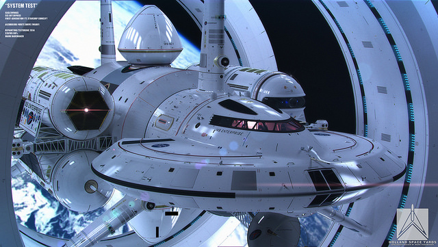 NASA IXS Enterprise 5
