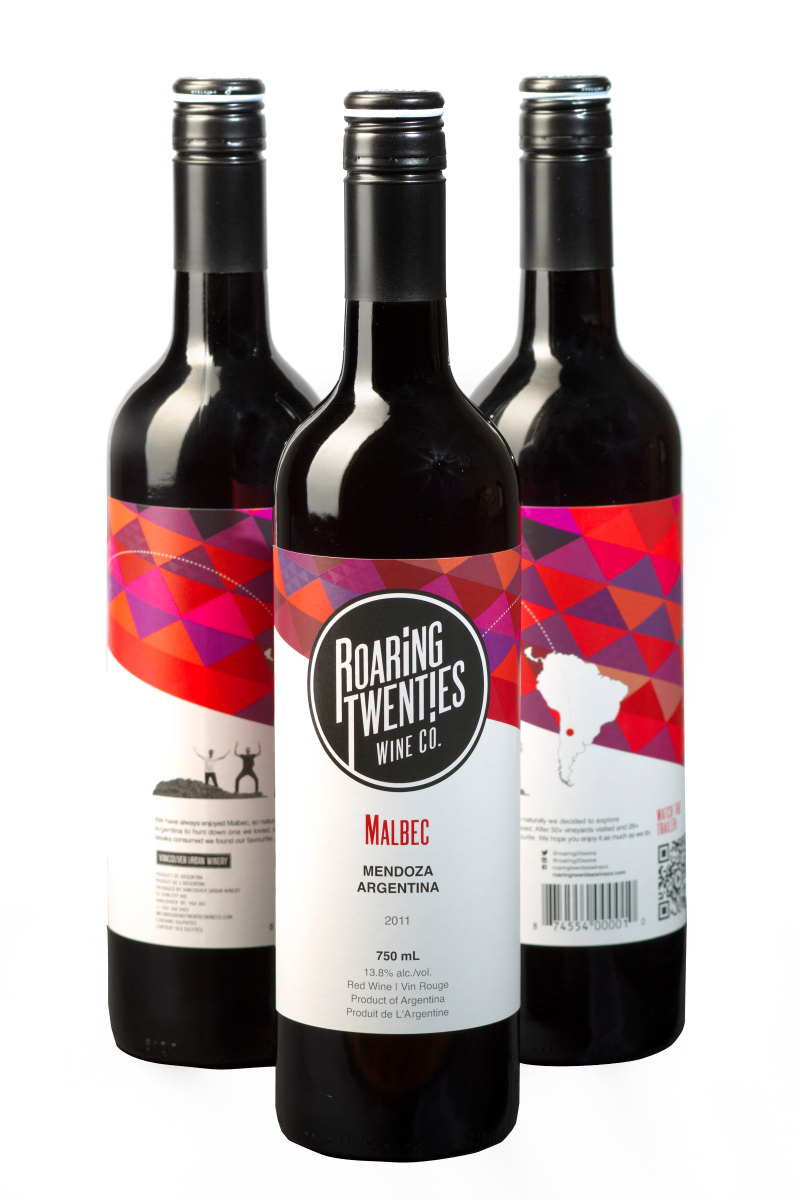 There will be wine! Roaring Twenties is produced at Railtown's Vancouver Urban Winery.