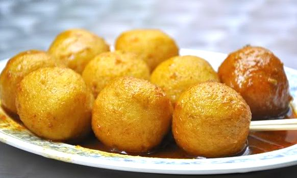 Spicy Curry Fish Balls