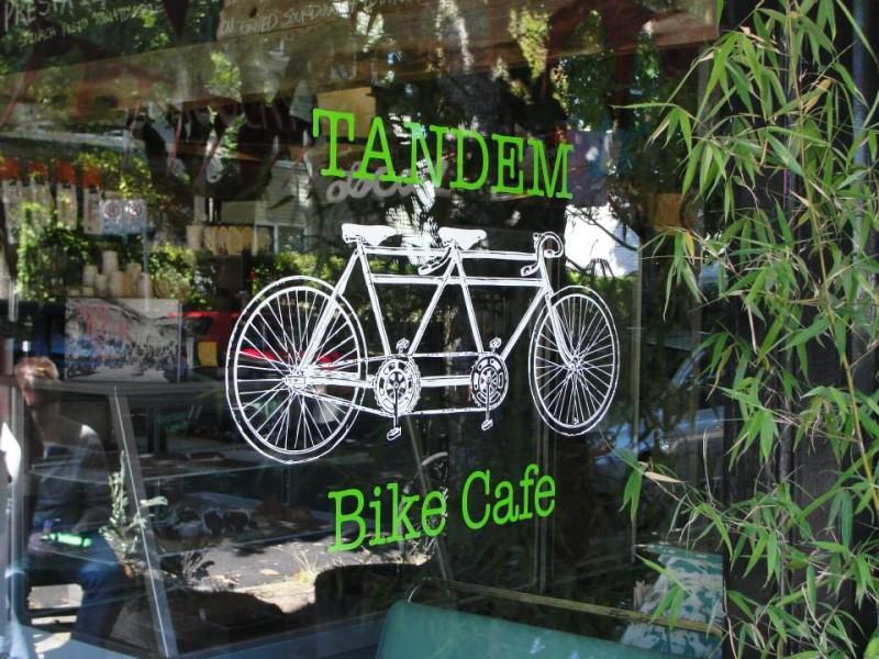 Tandem Bike Cafe