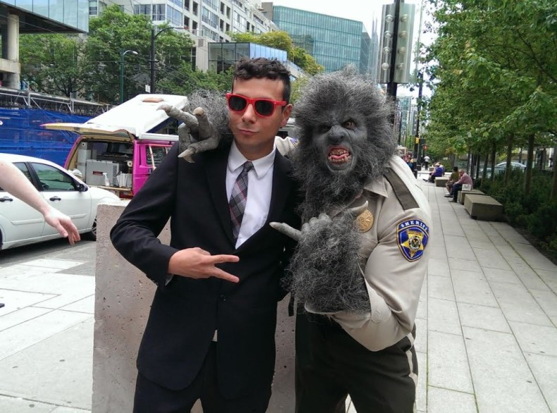 Wolf cop Vancouver