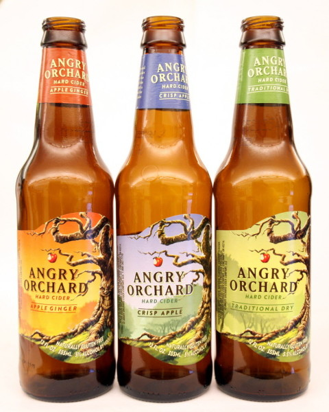 angry orchard bottles