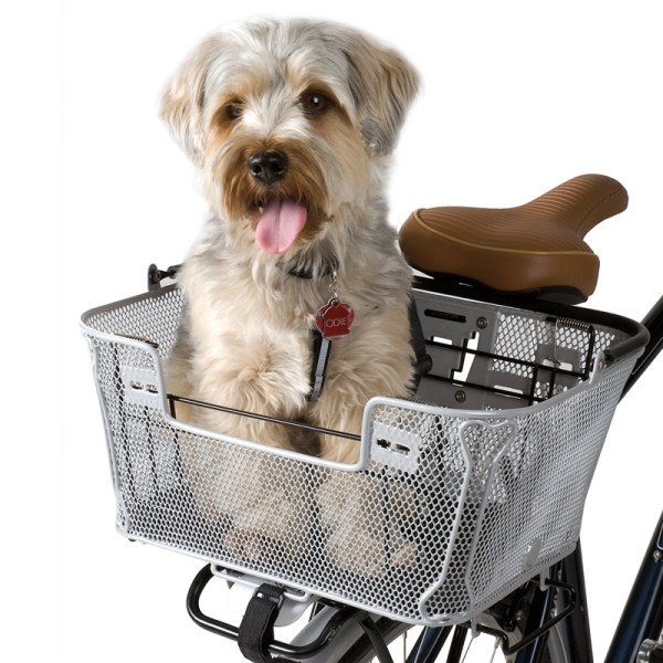 The QR dual-function premium pet basket
