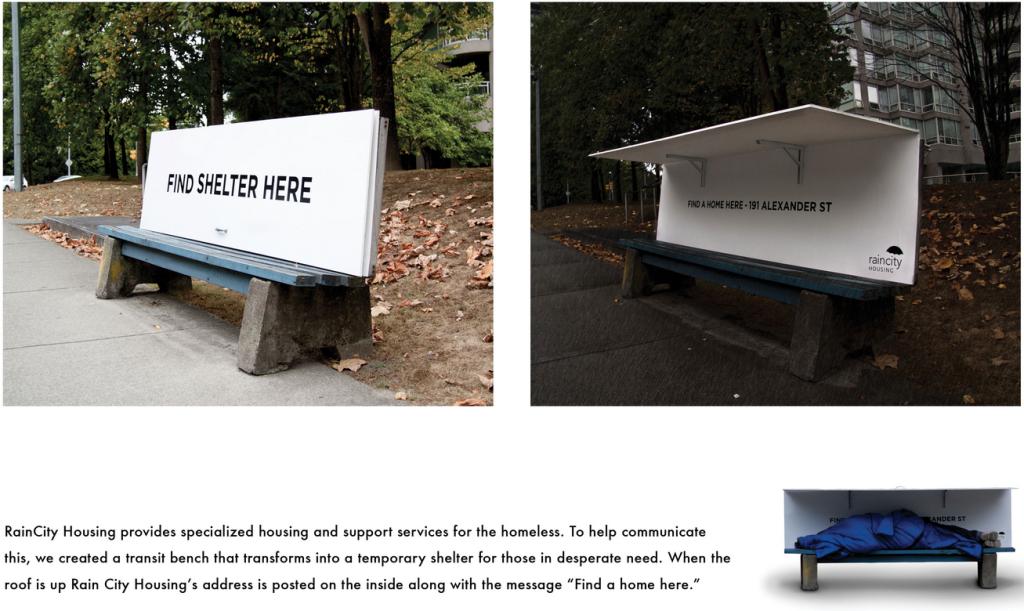 bus shelters homeless shelters rain city housing