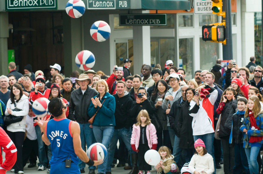 Basketball Jones. Photo Credit: downtowngranville.com
