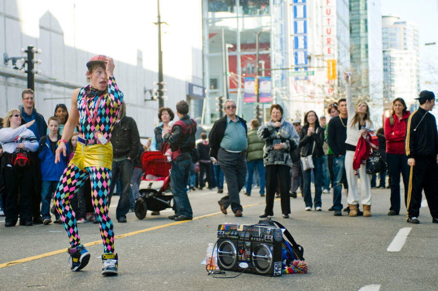 buskers spandy vancouver