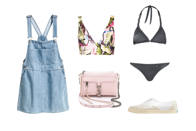 Poolside, festival fashion