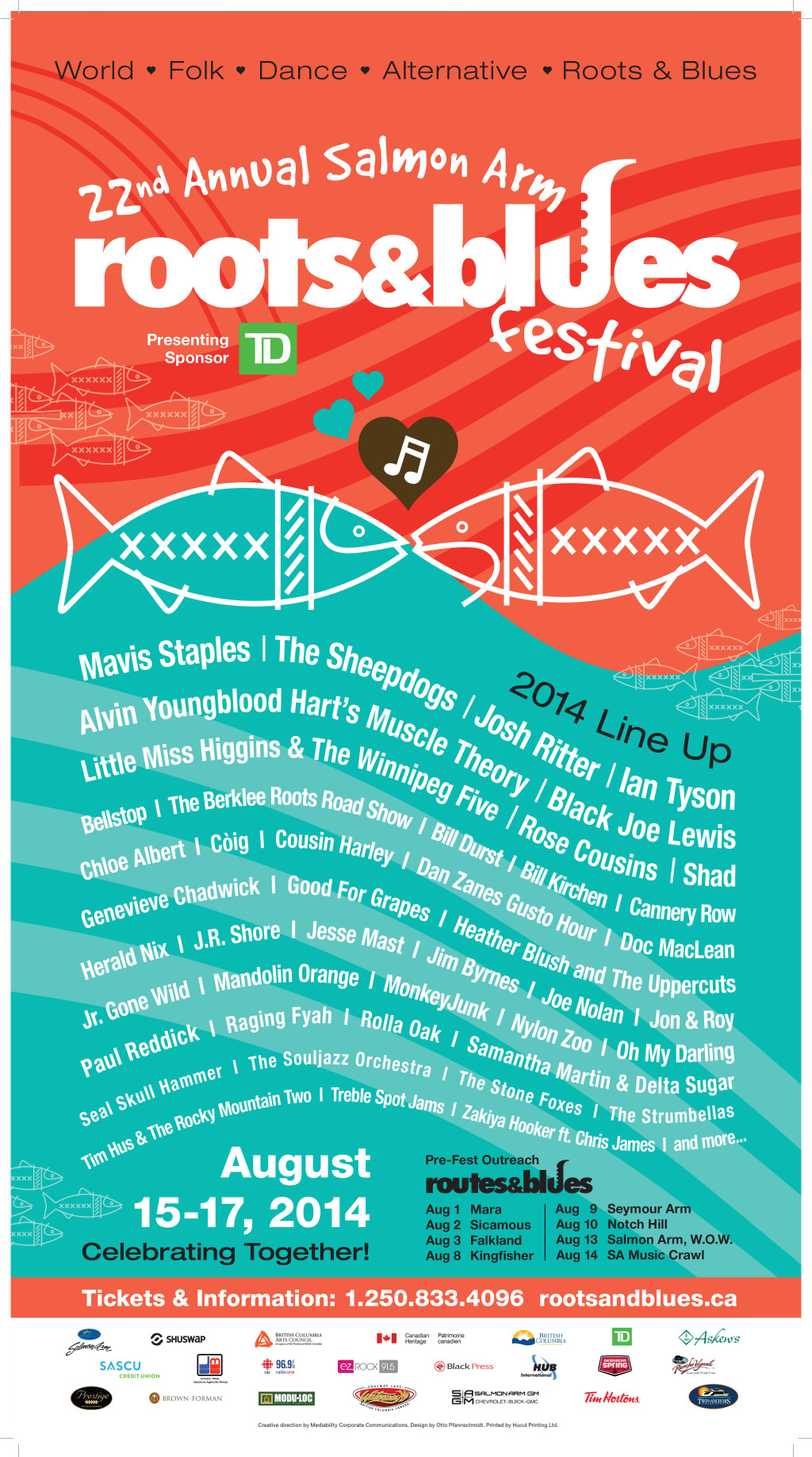 Salmon Arm Roots and Blues Lineup
