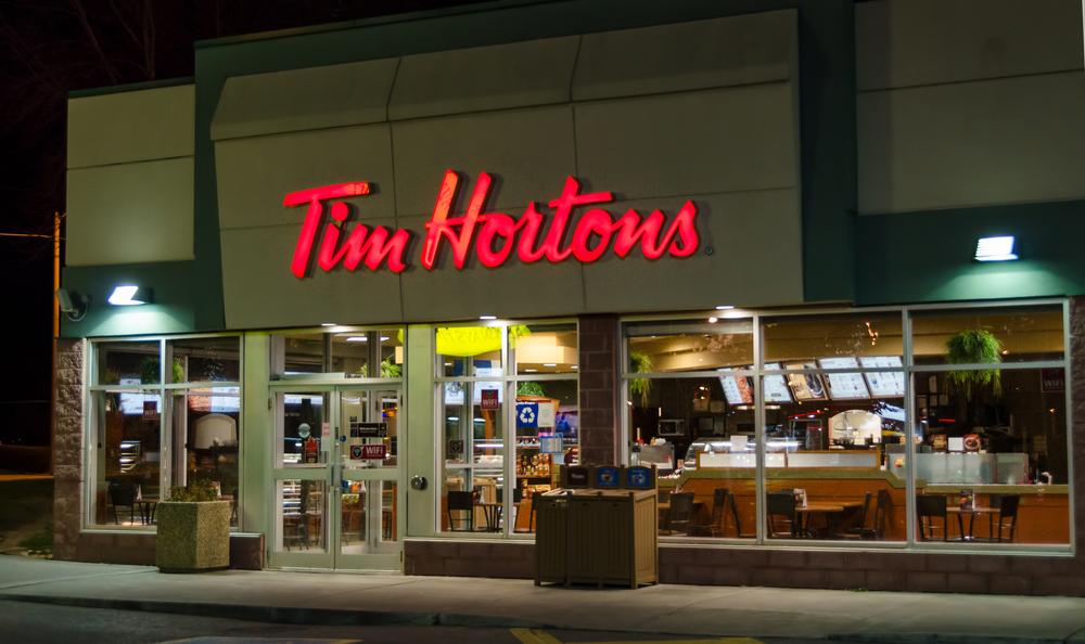 Tim Hortons stock