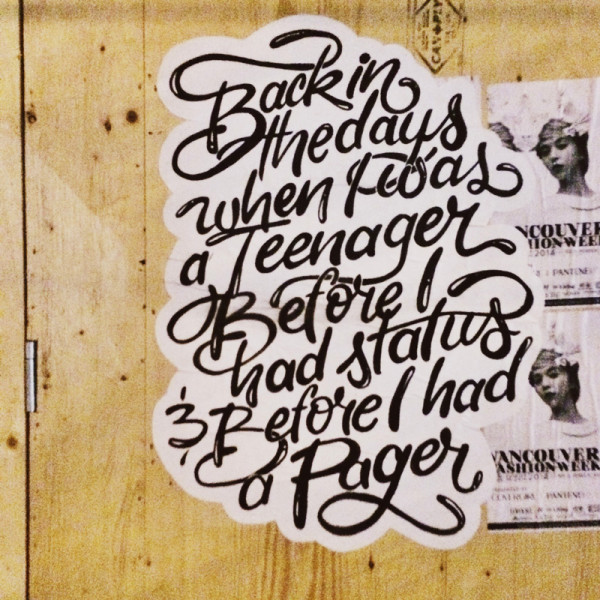 Street Script: Classic Hip-Hop Lyrics Popping up all over