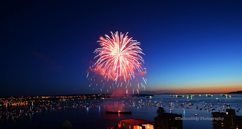 Celebration of Light 2014 Vancouver fireworks