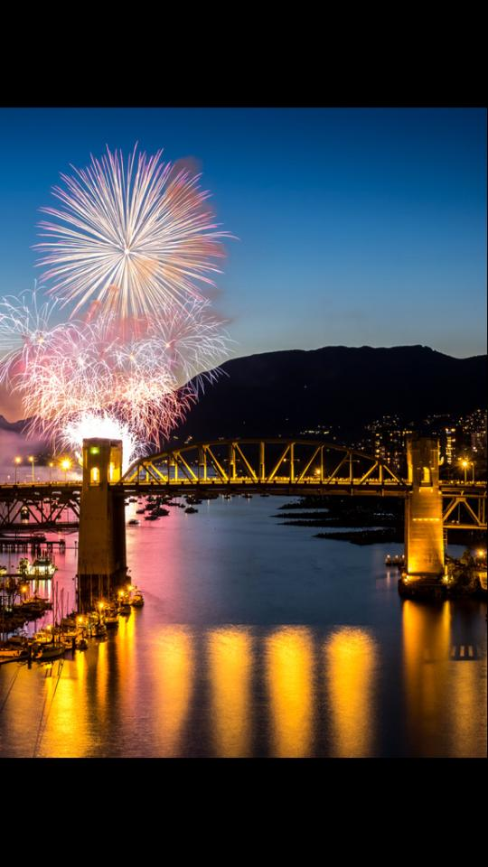 Celebration of Light 2014 Vancouver fireworks