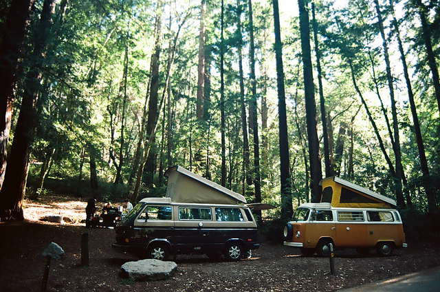rv camping west coast
