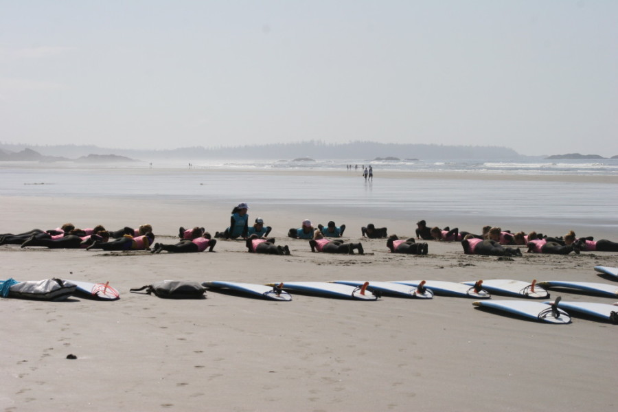Image: Courtesy of Tourism Tofino and Surf SisterSurf School