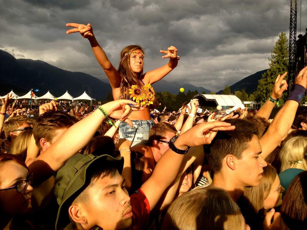 Pemberton Music Festival 2014 Crowd 3
