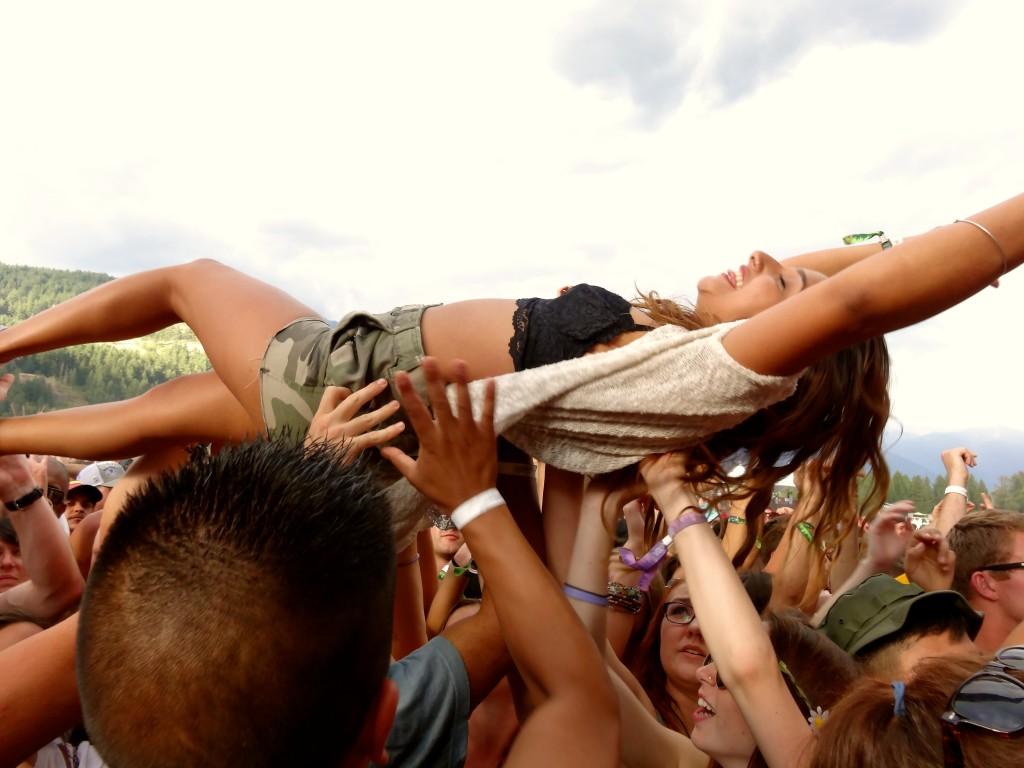 Pemberton Music Festival 2014 Crowd