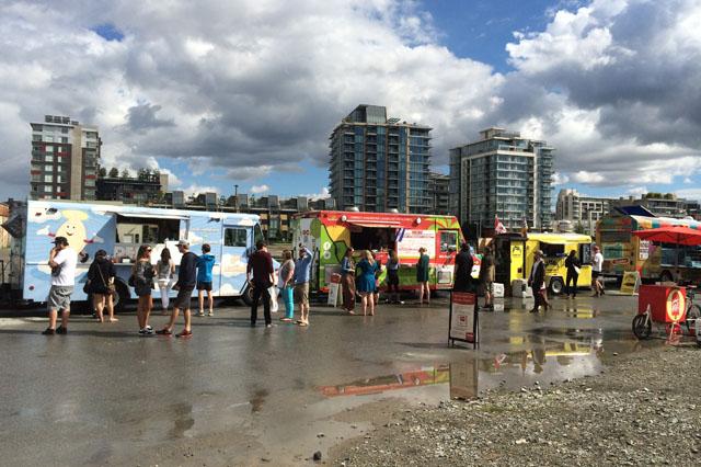 Food Cart Fest 2014 Grounds