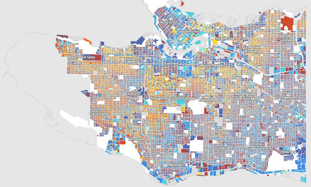 Vancouver Building Age Map