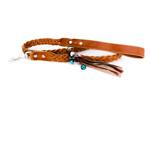 The bohemian braided leash from Dog & Crow.