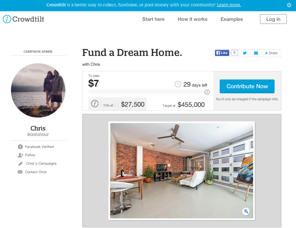 crowdfunding real estate chris boombour