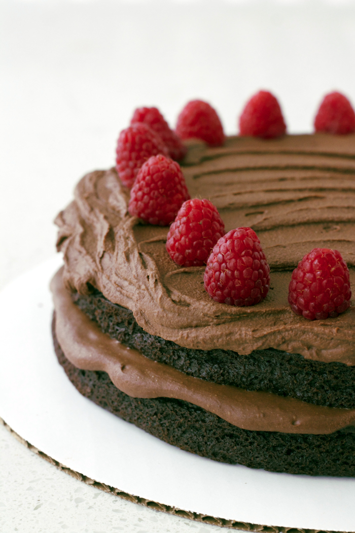 Best Ever Chocolate Quinoa Cake