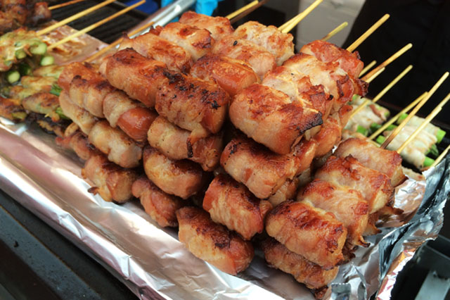 Meat Skewers - Richmond Night Market