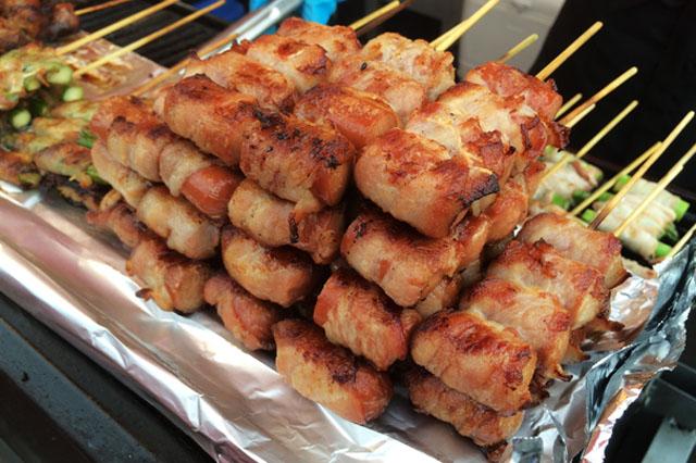 Meat Skewers - Richmond Night Market