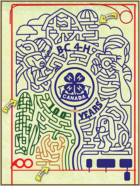 pitt meadows corn maze 2014 design