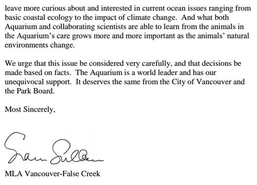 sam sullivan Vancouver Aquarium 2