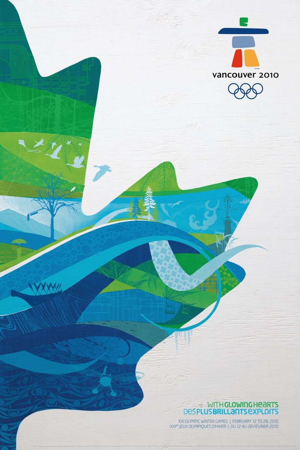 vancouver 2010 official poster